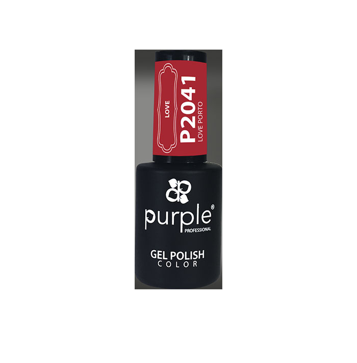 GEL SEMIP. 10ML LOVE PORTO RF:P2041 (PURPLE PROFES